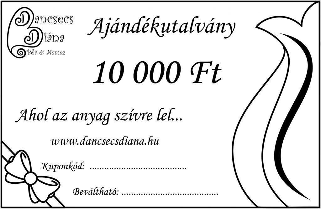 10000ft - ajándékutalvány