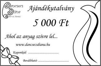 5000ft - ajándékutalvány