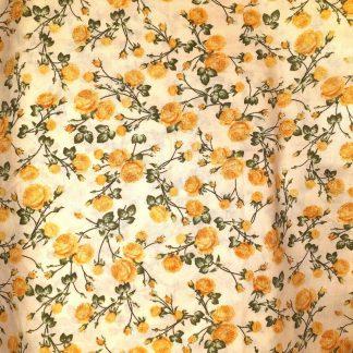 sárga rózsás bélés keretes tárcába
